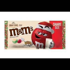 M&M's White Chocolate Sugar Cookie Share Size