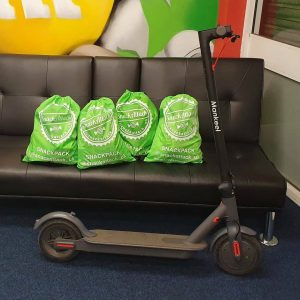 ELECTRIC SCOOTER & £100 HAMPER!
