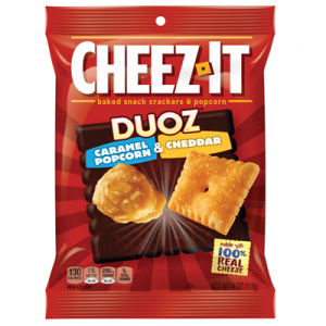 Cheez-it Duoz Caramel Popcorn & Cheddar