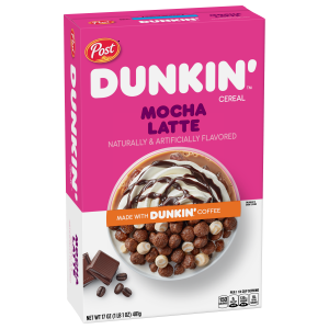 Post Dunkin Mocha Latte Cereal