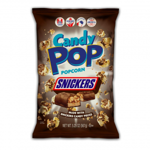 Candy Pop Popcorn Snickers 149g