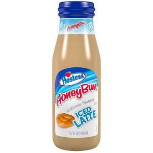 Hostess Honey Bun Iced Latte
