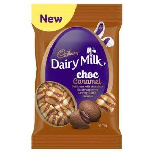 Cadbury Diary Milk Choc Caramel Eggs 115g
