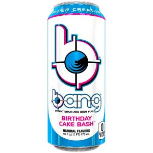 Bang Energy Birthday Cake Bash (18 ONLY)