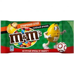 Salted Peanuts M&m