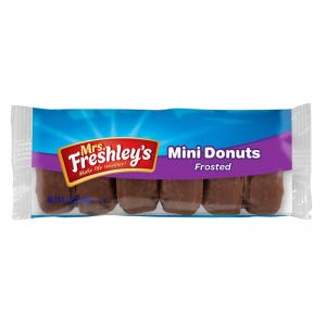 Mrs Freshley's Mini Chocolate Donuts