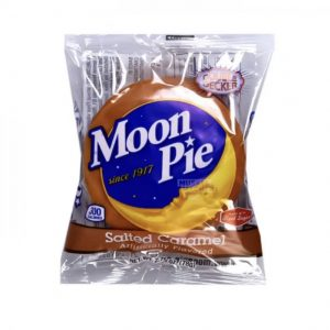 Salted Caramel Moon Pie