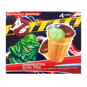 Ghost Buster Slime Pies 4 pack